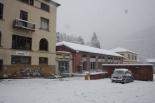 Nevada del 7 i el 8 de març Tallers Casals ben ple de neu (11:30). Foto: Arnau Urgell