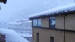 Nevada del 7 i el 8 de març En plena nevada a Ripoll (13:00). Foto: David Fernàndez