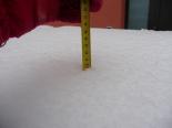Nevada del 7 i el 8 de març L'acumulació a la Font del Sofre de Ripoll va arribar als 40 cm. Foto: Gemma Martínez