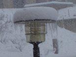 Nevada del 7 i el 8 de març Un bon tou de neu a Vallfogona (10:00). Foto: Biel de Haro