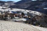 Nevada i ventada del 2-3 de febrer Emblanquinada a Molló. Foto: Marcel Urgell