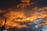 Posta de sol de tardor a Ripoll