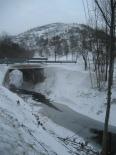 L'endemà de la nevada El Ritort gelat a Espinavell. Foto: Eva Martínez-Picó