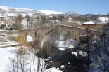 L'endemà de la gran nevada Postal hivernal al pont de Sant Joan. Foto: Steve Cedar