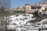L'endemà de la gran nevada El barri del pla del Roser de Sant Joan, ben nevat. Foto: Steve Cedar