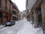 L'endemà de la gran nevada L'endemà de la nevada a Sant Pau de Segúries. Foto: Montse Muntadas