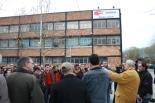 El 2009 al Ripollès, en 100 imatges Assemblea de treballadors de Comforsa (Campdevànol, 2 d'abril) Foto: Arnau Urgell
