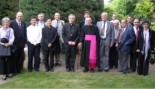 El 2009 al Ripollès, en 100 imatges El rector de Llanars, Lluís Suriñach, centenari i prelat d'honor del papa (Llanars, maig i desembre) Foto: Bisbat de Vic