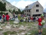El 2009 al Ripollès, en 100 imatges Centenari del refugi d'Ulldeter (Setcases, 24 de juliol) Foto: Llorenç Gómez
