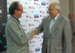 El 2009 al Ripollès, en 100 imatges Ramon Vilardell substitueix a Francesc Solà a la presidència de la Fundació Eduard Soler (Ripoll, 24 de juliol) Foto: FES