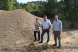 El 2009 al Ripollès, en 100 imatges Aposta per la biomassa forestal com a font d'energia (Planoles, 7 d'octubre) Foto: Arnau Urgell