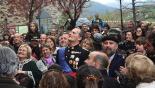 L'any 2010 en 100 imatges El rei Albà a la Fira Transfronterera de Molló. Foto: Marcel Urgell