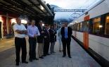 L'any 2010 en 100 imatges Estrena del tren semidirecte cap a Barcelona. Foto: Arnau Urgell
