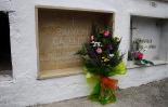 L'any 2010 en 100 imatges Homenatge a Raimon Casellas, cent anys després de la seva mort a Sant Joan. Foto: Arnau Urgell
