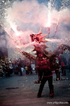Resum 2011 Trobada de Dracs per reclamar un Sant Jordi Festiu. Foto: Rastres (Gerard Garcia i Raül Duque)