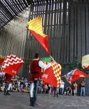 Resum 2011 Abanderats de Tortosa al Mercadal. Foto: Arnau Urgell