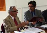 Resum 2011 Eudald Maideu va ser nomenat gombrenès d'adopció. Foto: ElRipollès.info