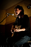 El 2012 al Ripollès, en 125 imatges Actuació d'en Puntí a Campdevànol. Foto: Rastres (Gerard Garcia i Raül Duque)