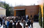El 2012 al Ripollès, en 125 imatges Inauguració de la nova seu del CEINR a Ribes de Freser. Foto: Arnau Urgell