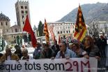 El 2012 al Ripollès, en 125 imatges Manifestació de la vaga general del 29M. Foto: Arnau Urgell