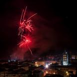 El 2012 al Ripollès, en 125 imatges Castell de focs de Sant Eudald. Foto: Rastres (Gerard Garcia i Raül Duque)