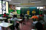 El 2012 al Ripollès, en 125 imatges Marea groga a les aules en motiu de la vaga al sector de l'ensenyament del 22 de maig. Foto: Arnau Urgell