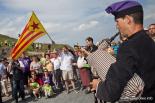 El 2012 al Ripollès, en 125 imatges La Flama del Canigó a coll d'Ares. Foto: Adrià Costa