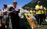 El 2012 al Ripollès, en 125 imatges Homenatge a Xirinacs en el marc de l'inici nacional del Correllengua. Foto: Arnau Urgell