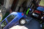 El 2012 al Ripollès, en 125 imatges Espectacular accident a la Corba de Campelles (N-260). Foto: Arnau Urgell