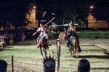 El 2012 al Ripollès, en 125 imatges Justes medievals en el marc del Mercadal del Comte Guifré. Foto: Rastres (Gerard Garcia i Raül Duque)
