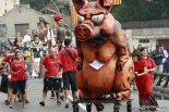 El 2012 al Ripollès, en 125 imatges Cercavila gegantera de la Festa Major de Sant Joan. Foto: Arnau Urgell