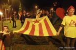 El 2012 al Ripollès, en 125 imatges Marxa de torxes la vigília de la Diada a Ribes amb missatge contra les retallades. Foto: Arnau Urgell