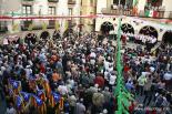 El 2012 al Ripollès, en 125 imatges Reivindicació independentista a la Festa del Grito. Foto: Arnau Urgell