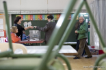 El 2012 al Ripollès, en 125 imatges Eleccions del 25N a Ripoll. Foto: Adrià Costa