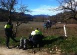 El 2012 al Ripollès, en 125 imatges Detenció d'un dels presumptes lladres de la Vall de Camprodon. Foto: CME