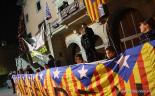 El 2012 al Ripollès, en 125 imatges Concentració pel català a l'escola a Ripoll. Foto: Arnau Urgell