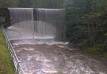 Crescuda rius pluges 3-4 novembre El Freser ben ple al balneari Montagut (3 de novembre). Foto: Jordi Bober/Meteoplanoles