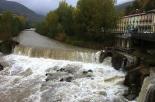 Crescuda rius pluges 3-4 novembre El Freser al pas per Campdevànol (4 de novembre). Foto: Arnau Birba