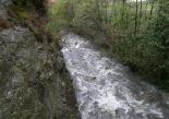 Crescuda rius pluges 3-4 novembre El Segadell ple al plas pel camping Vall de Ribes (4 de novembre). Foto: Josep Manuel Mercader/Meteoribes