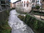 Crescuda rius pluges 3-4 novembre Aiguabarreig del Freser i el Segadell (4 de novembre). Foto: Foto: Josep Manuel Mercader/Meteoribes