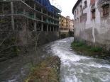 Crescuda rius pluges 3-4 novembre Aiguabarreig del Freser i el Segadell. Foto: Foto: Josep Manuel Mercader/Meteoribes