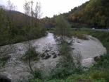 Crescuda rius pluges 3-4 novembre El Freser al pont de la Cabreta (4 de novembre). Foto: Josep Manuel Mercader/Meteoribes