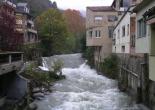 Crescuda rius pluges 3-4 novembre El Freser a Ribes. Foto: Josep Manuel Mercader/Meteoribes