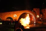 Foguera de Sant Joan a Camprodon, 2013