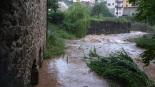 Fortes tempestes al Ripollès 16-21 de juliol L'Arçamala ben plena després de caure 76 litres a Sant Joan (19 de juliol). Foto: CEA Alt Ter