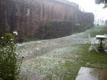 Fortes tempestes al Ripollès 16-21 de juliol Pedregada a Planoles (20 de juliol). Foto: Jordi Bober/Meteoplanoles