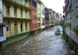 Temporal de pluja del 10 d'octubre El Ritort a Camprodon. Foto: Marcel Urgell