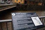 Temporal de pluja del 10 d'octubre El Ter al pont d'Olot de Ripoll. Foto: Arnau Urgell