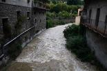 Temporal de pluja del 10 d'octubre El Rigard a Ribes. Foto: Arnau Urgell