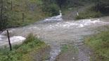 Temporal de pluja del 10 d'octubre El Ritort a Espinavell (12 octubre). Foto: Josep Coma
